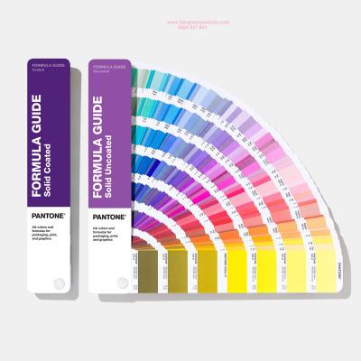 Pantone Formula Guide Solid Coated & Uncoated GP1601A