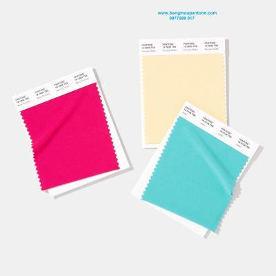 Thẻ màu Pantone Polyester Swatch Card ( TSX )